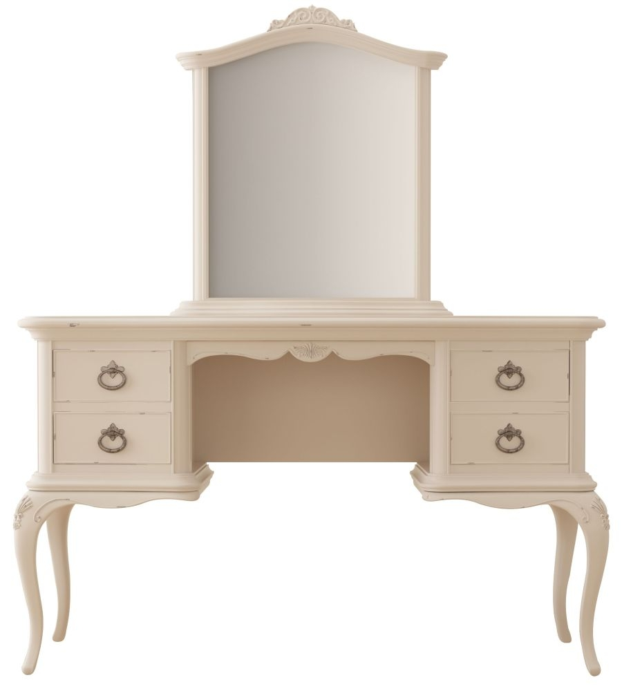 Willis and Gambier Ivory Dressing Table and Mirror