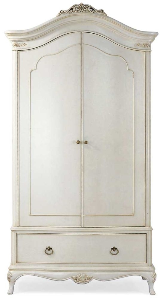 Willis and Gambier Ivory Double Wardrobe - 2 Door