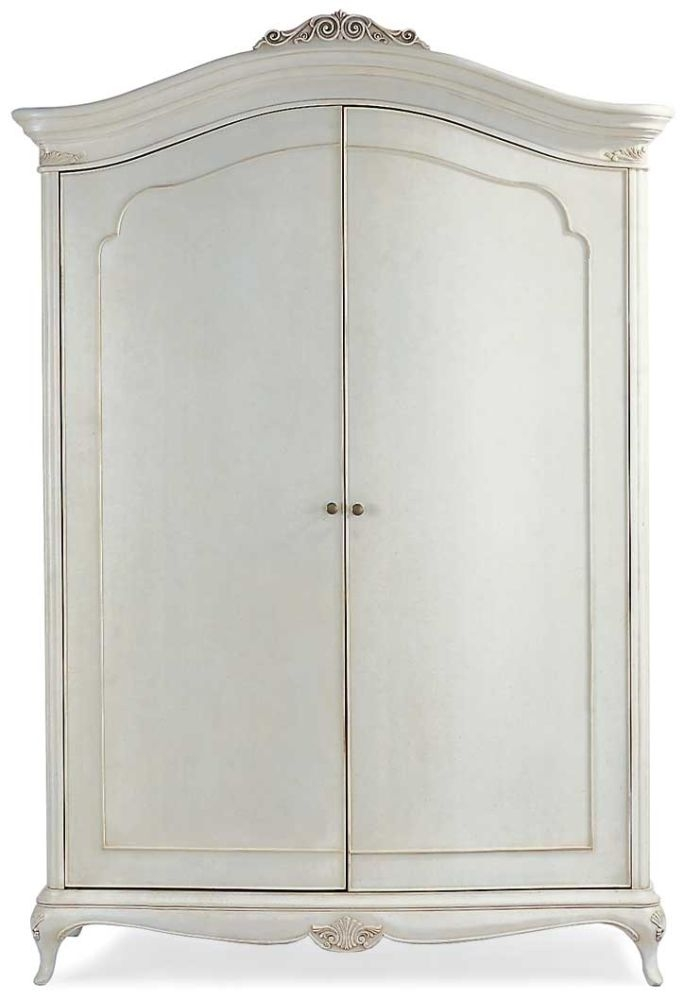 Willis and Gambier Ivory 2 Door Wide Fitted Wardrobe