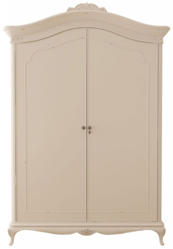 Willis and Gambier Ivory 2 Door Wide Fitted Double Wardrobe
