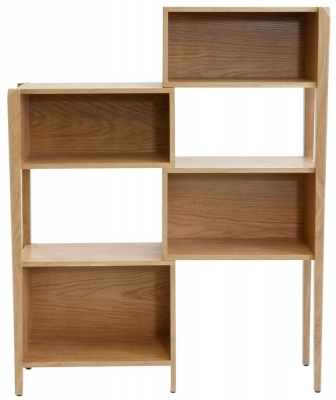 Willis and Gambier Kennedy Oak Bookcase - Extendable