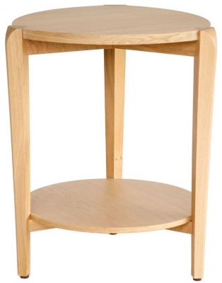 Willis and Gambier Kennedy Oak Side Table - Round