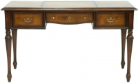 Willis and Gambier Kensington Burl Simple Writing Desk