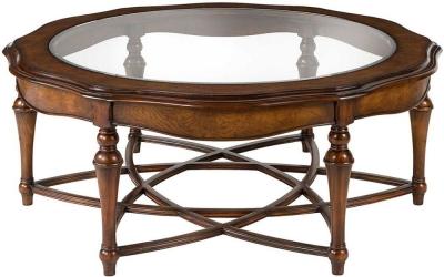 Willis and Gambier Kensington Burl Coffee Table - Round