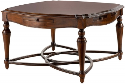 Willis and Gambier Kensington Burl Square Coffee Table