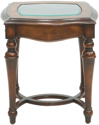 Willis and Gambier Kensington Burl Side Table