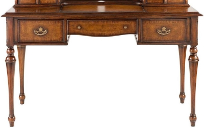 Willis and Gambier Kensington Burl Writing Desk