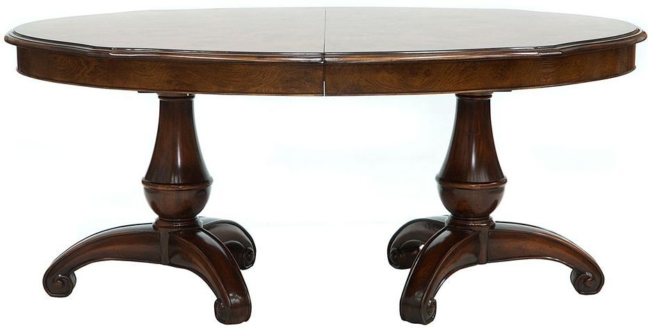 Willis and Gambier Kensington Burl Dining Table - Large Extending