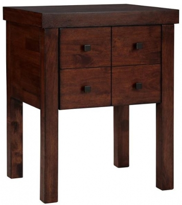 Willis and Gambier Kerala Bedside Chest - 4 Drawer