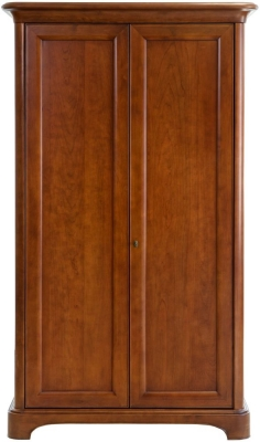 Willis and Gambier Lille Cherry 2 Door Double Wardrobe