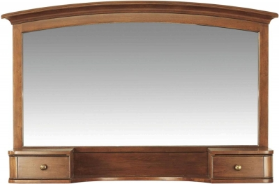 Willis and Gambier Lille Cherry 2 Drawer Arch Mirror