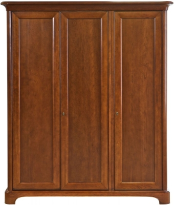 Willis and Gambier Lille Cherry 3 Door Triple Wardrobe