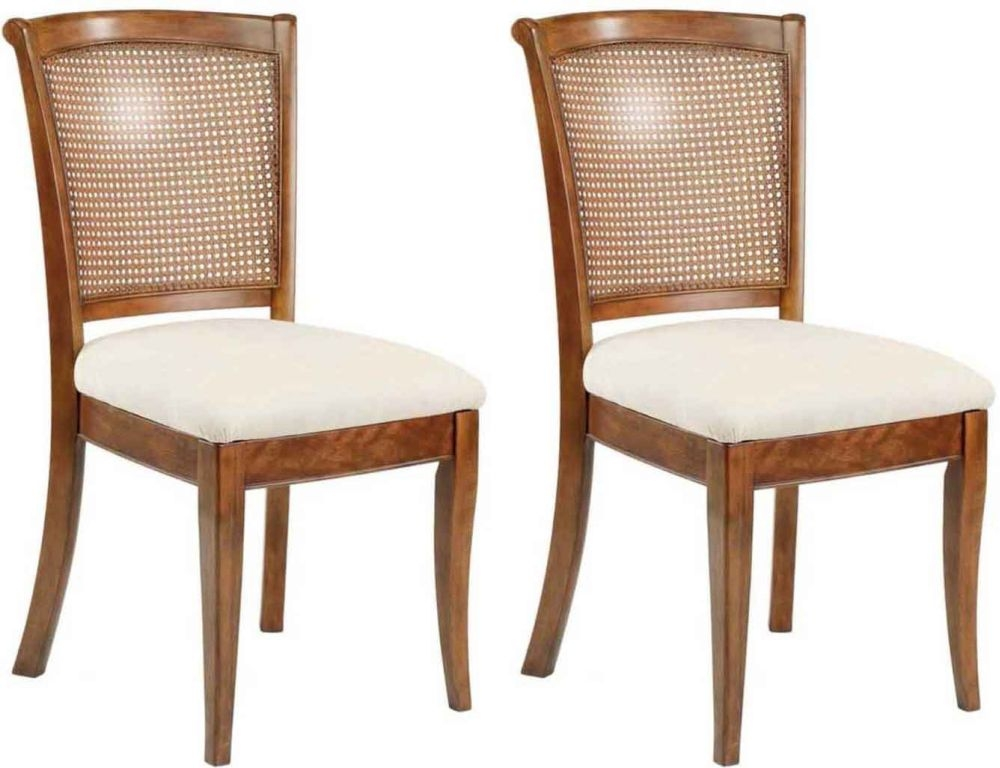 Willis and Gambier Lille Cane Dining Chair (Pair)