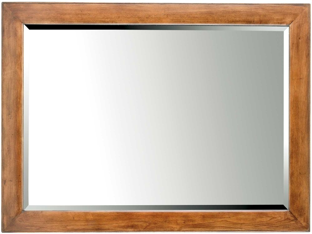 Willis and Gambier Lille Cherry Rectangular Wall Mirror