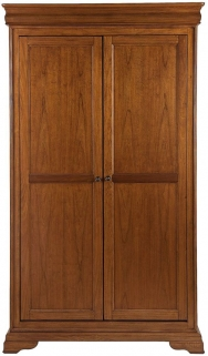 Willis and Gambier Louis Philippe Honeycomb All Hanging Double Wardrobe