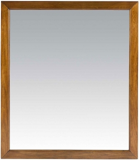 Willis and Gambier Louis Philippe Honeycomb Rectangular Wall Mirror