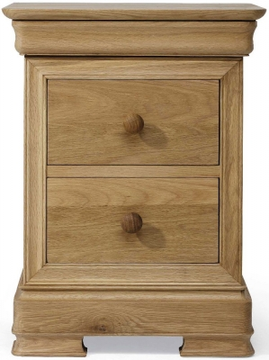Willis and Gambier Lyon Oak Bedside Cabinet