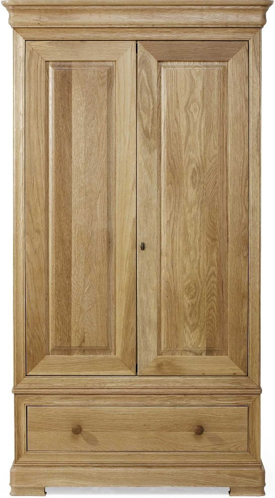 Willis and Gambier Lyon Oak Double Wardrobe