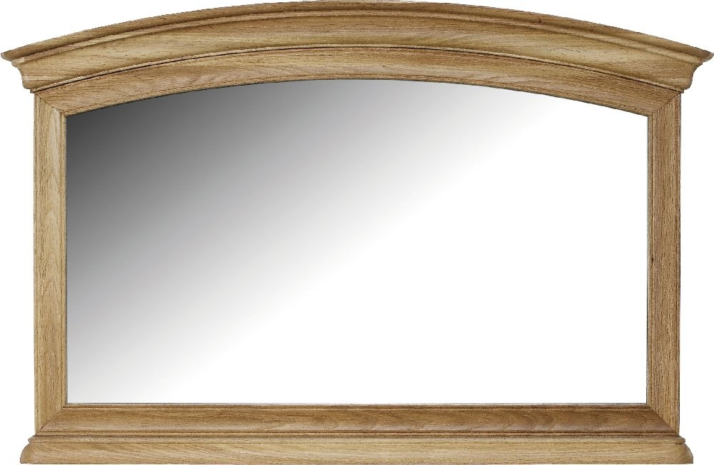 Willis and Gambier Lyon Oak Gallery Mirror
