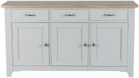 Willis and Gambier Malvern Slate Grey 3 Door Sideboard