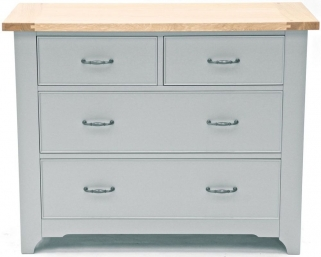 Willis and Gambier Malvern Slate Grey 2+2 Chest of Drawer