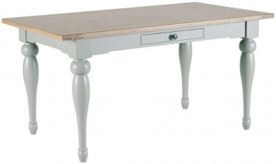 Willis and Gambier Malvern Slate Grey Fixed Top Dining Table
