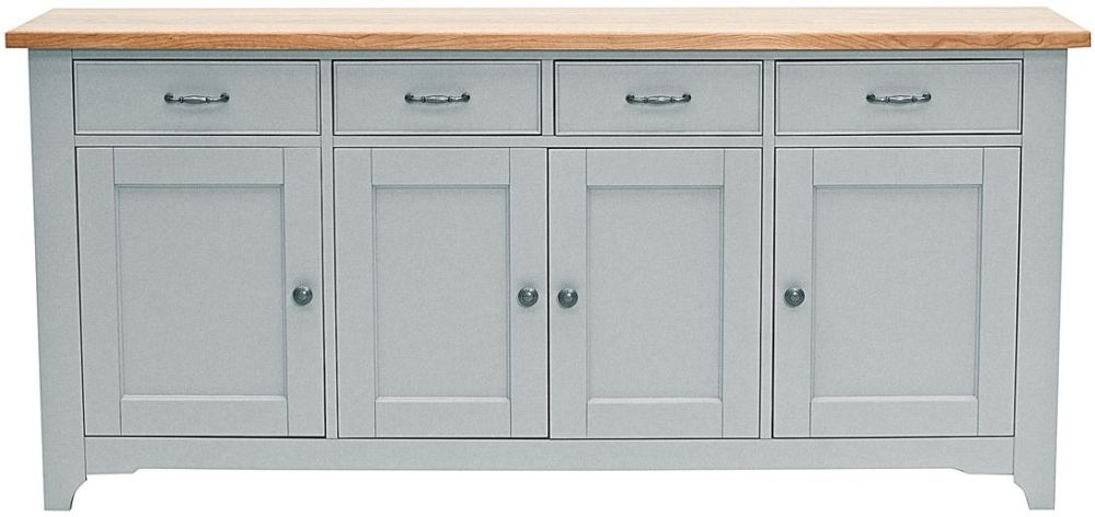 Willis and Gambier Malvern Slate Grey 4 Door Sideboard