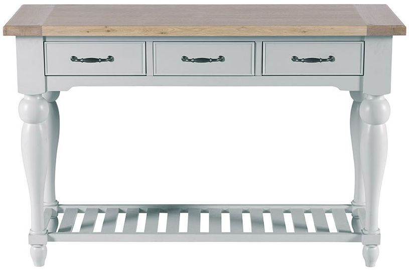Willis and Gambier Malvern Slate Grey Console Table