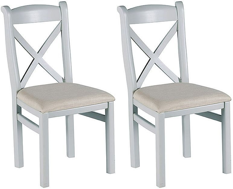 Willis and Gambier Malvern Slate Grey Dining Chair (Pair)
