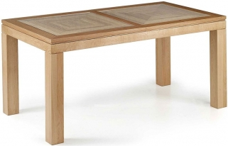 Willis and Gambier Maze Oak Large Extending Dining Table