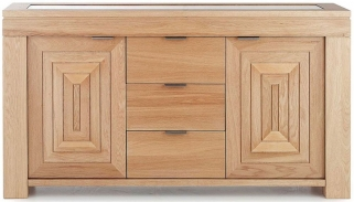 Willis and Gambier Maze Oak Large Sideboard