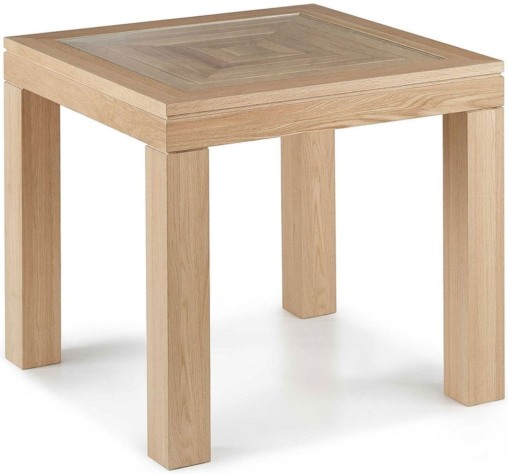 Willis and Gambier Maze Oak Square Dining Table