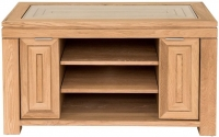 Willis and Gambier New Maze Oak 2 Door TV Unit
