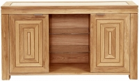 Willis and Gambier New Maze Oak 2 Door Medium Open Sideboard