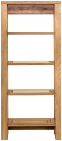Willis and Gambier New Maze Oak Glazed Shelving Unit