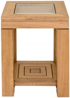 Willis and Gambier New Maze Oak Side Table