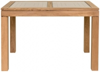 Willis and Gambier New Maze Oak Rectangular Extending Dining Table - 118cm-158cm