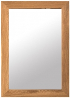 Willis and Gambier New Maze Oak Rectangular Wall Mirror