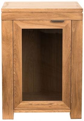 Willis and Gambier New Maze Oak 1 Door Mini Sideboard