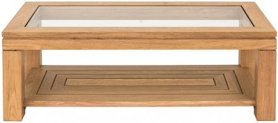 Willis and Gambier New Maze Oak Coffee Table