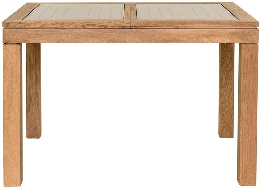 Willis and Gambier New Maze Oak Rectangular Extending Dining Table - 118cm-158cm