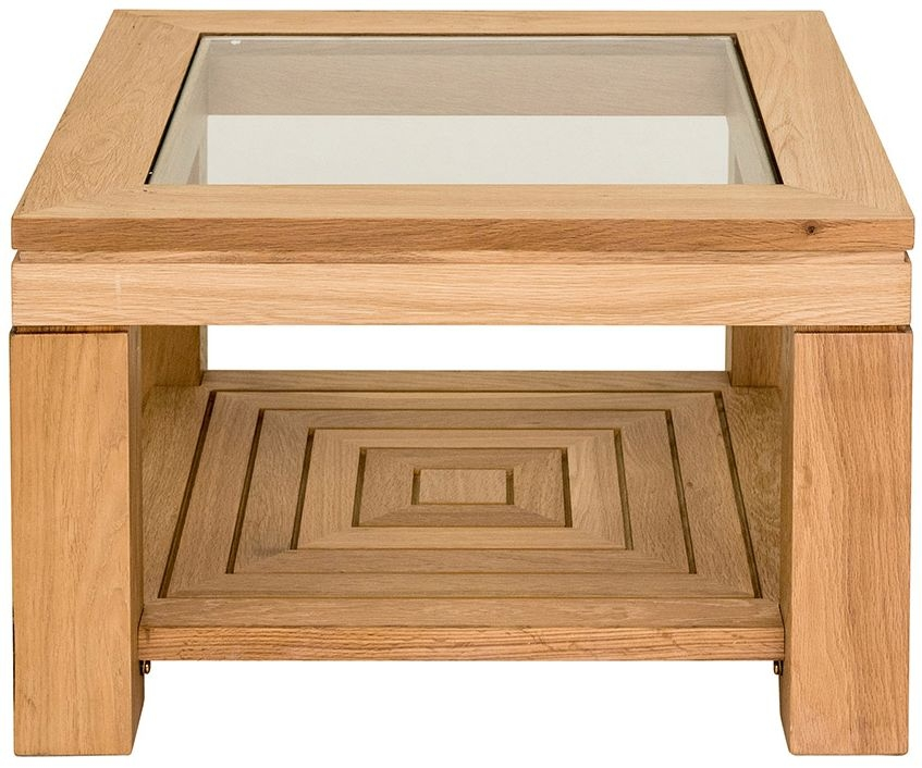 Willis and Gambier New Maze Oak Square Coffee Table