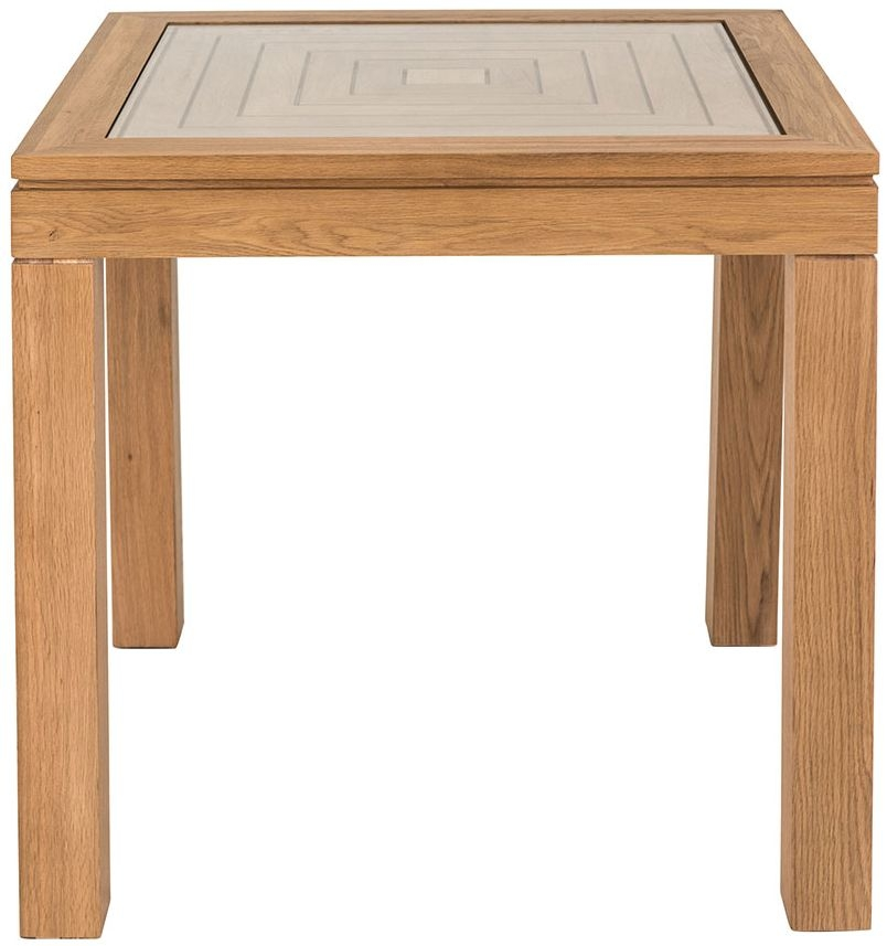 Willis and Gambier New Maze Oak Square Dining Table - 83cm