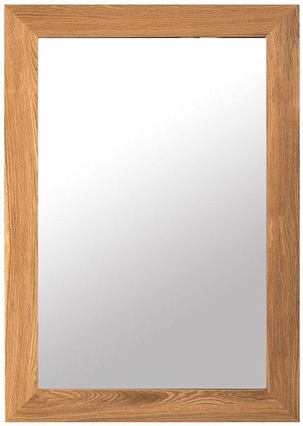 Willis and Gambier New Maze Oak Wall Mirror