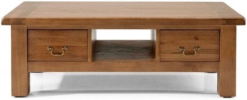 Willis and Gambier Originals Bretagne 2 Drawer Storage Coffee Table
