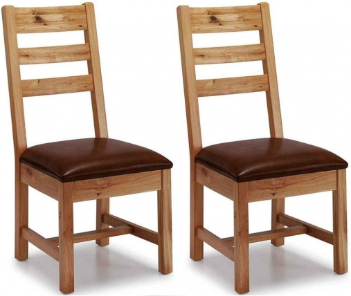 Willis and Gambier Originals Bretagne Ladder Back Dining Chair (Pair)