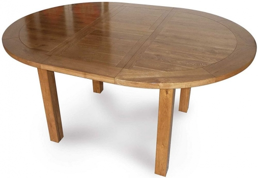 Willis and Gambier Originals Bretagne Round Extending Dining Table - 116cm-156cm