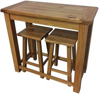 Willis and Gambier Originals Bretagne Bar Table with 2 Stool