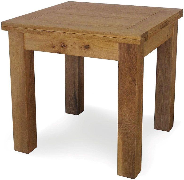 Willis and Gambier Originals Bretagne Square Flip Top Dining Table - 80cm-160cm