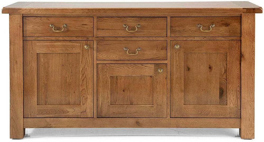 Willis and Gambier Originals Bretagne Sideboard - Large Wide 3 Door 4 Drawer